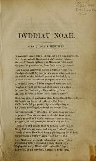 Dyddiau Noah