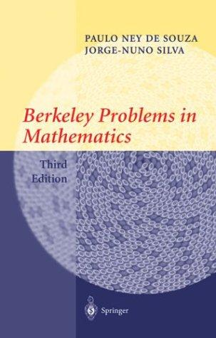 Download Berkeley problems in mathematics