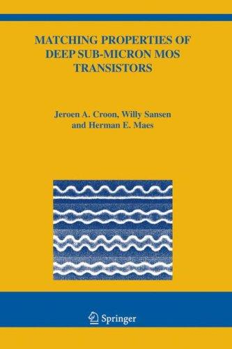 Matching Properties of Deep Sub-Micron MOS Transistors