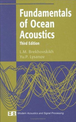 Download Fundamentals of ocean acoustics