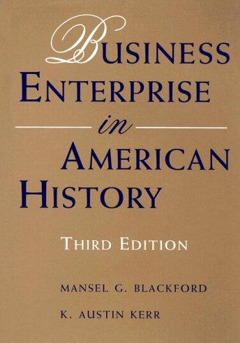 Download Business enterprise in American history