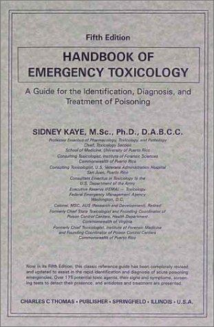 Download Handbook of emergency toxicology