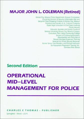 Download Operational mid-level management for police