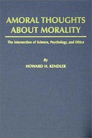Amoral Thoughts About Morality