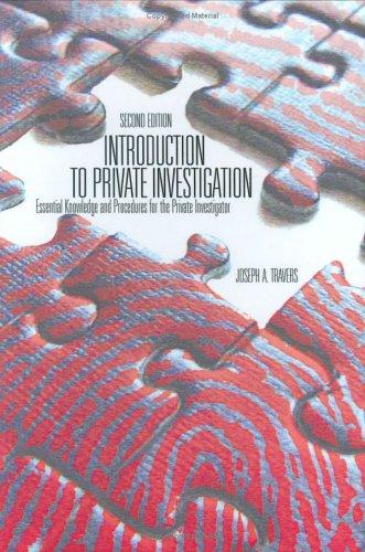 Download Introduction To Private Investigation