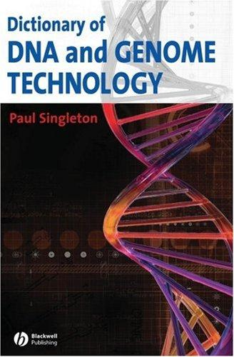 Download Dictionary of DNA and Genome Technology