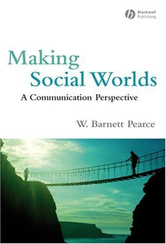 Download Making Social Worlds