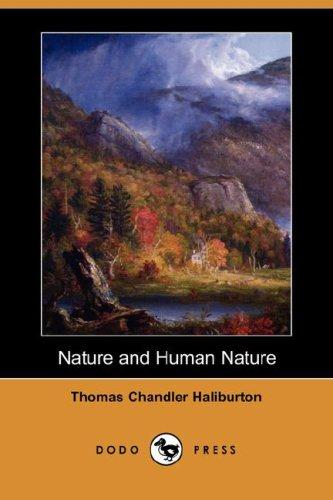 Download Nature and Human Nature (Dodo Press)