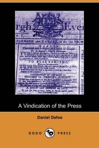 A Vindication of the Press (Dodo Press)