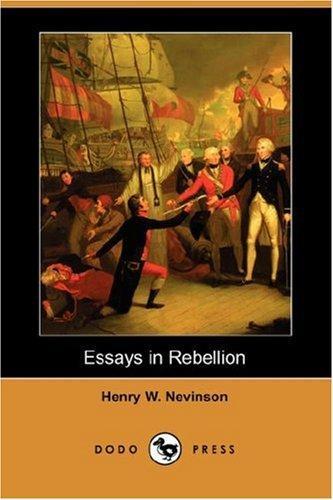 Essays in Rebellion (Dodo Press)