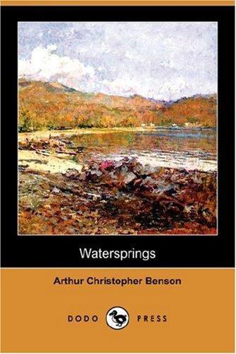 Watersprings (Dodo Press)