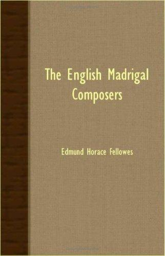 Download The English Madrigal Composers