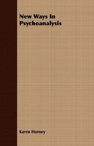 Download New Ways In Psychoanalysis
