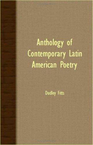 Download Anthology Of Contemporary Latin American Poetry