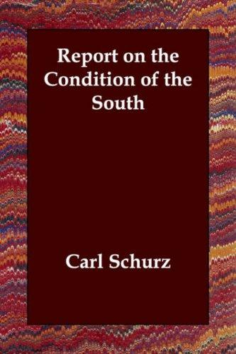 Report on the Condition of the South