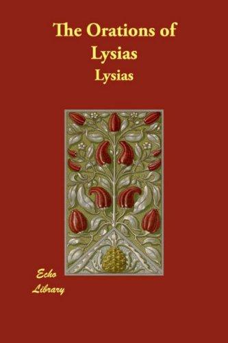 The Orations of Lysias