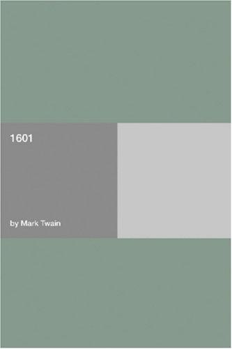 1601 by Mark Twain, Benjamin Franklin