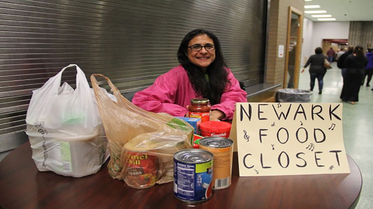Food Drives will continue at Newark Concerts