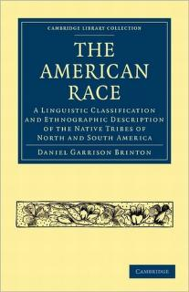The American race by Daniel Garrison Brinton