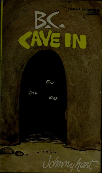 B C CAVE-IN (Fawcett World Library) by Johnny Hart