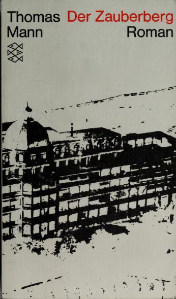 Cover of: Der Zauberberg | Thomas Mann