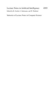 Engineering societies in the agents world VIII by ESAW 2006 (2007 Athens, Greece)