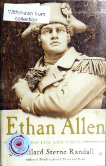 Cover of: Ethan Allen | Willard Sterne Randall