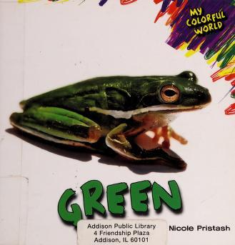 Cover of: Green   Nicole Pristash