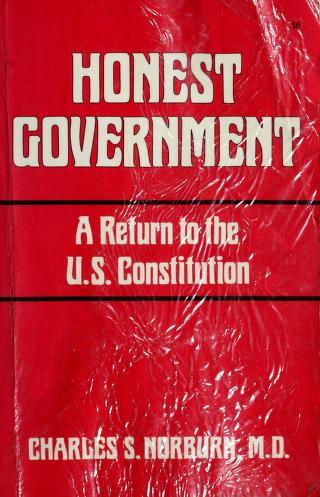 Honest government by Charles S. Norburn