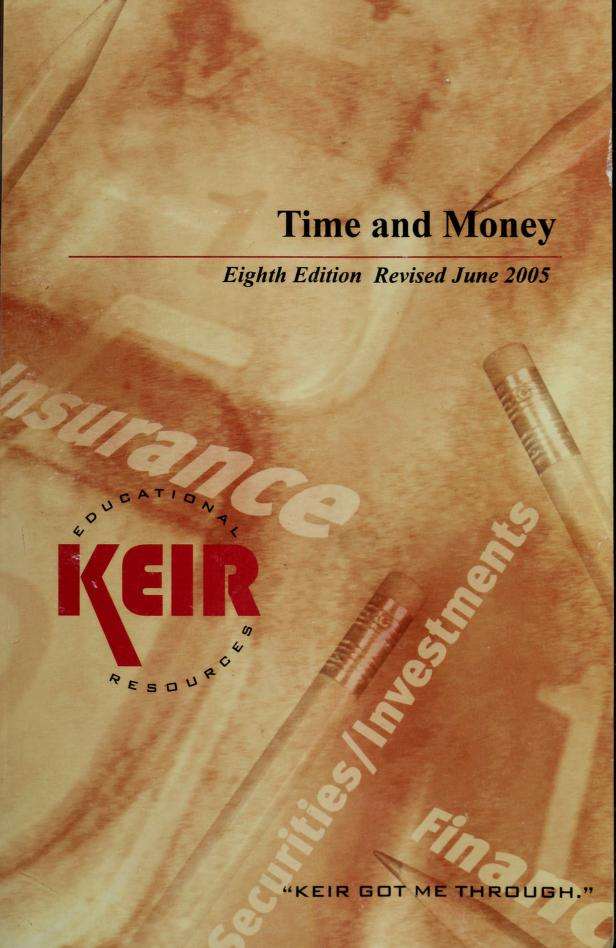 Time & Money, 8th Edition by Robert Crowe