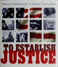 Cover of: To establish justice | Pat McKissack