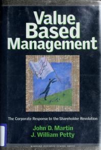 Cover of: Value based management | Martin, John D.