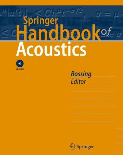Springer Handbook of Acoustics (Springer Handbook of) by