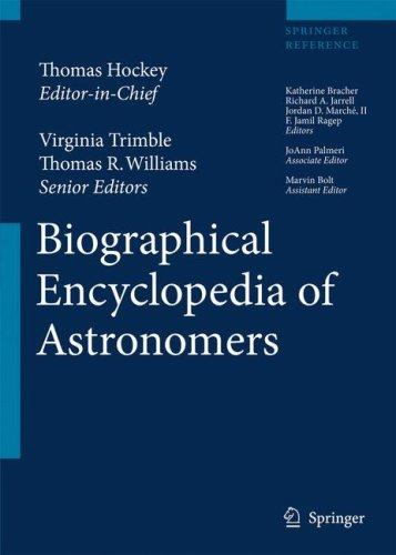 The Biographical Encyclopedia of Astronomers by