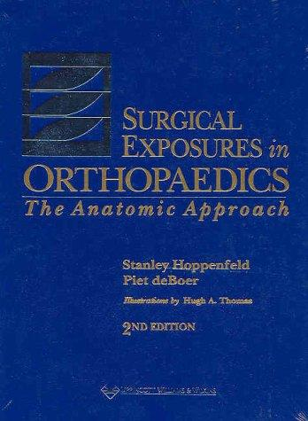 Surgical exposures in orthopaedics by Stanley Hoppenfeld