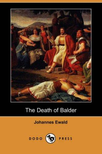 The death of Balder by Johannes Ewald