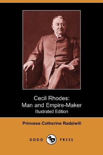 Cecil Rhodes by Princess Catherine Radziwill